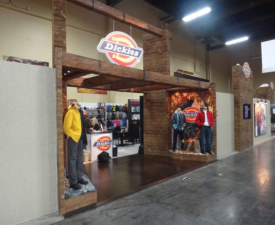Nj Trade Show Booth : Dickies custom exhibits