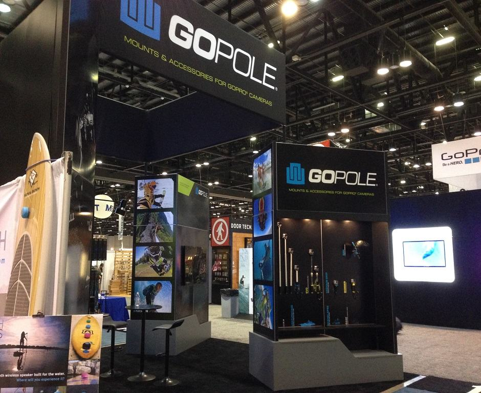 Nj Trade Show Booth : Go pole custom exhibits