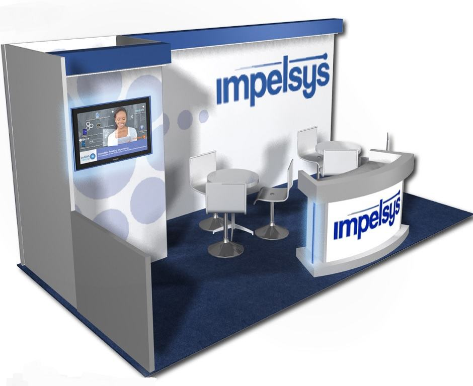 Nj Trade Show Booth : Impelsys custom exhibits