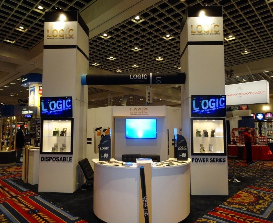 Nj Trade Show Booth : Logic custom exhibits