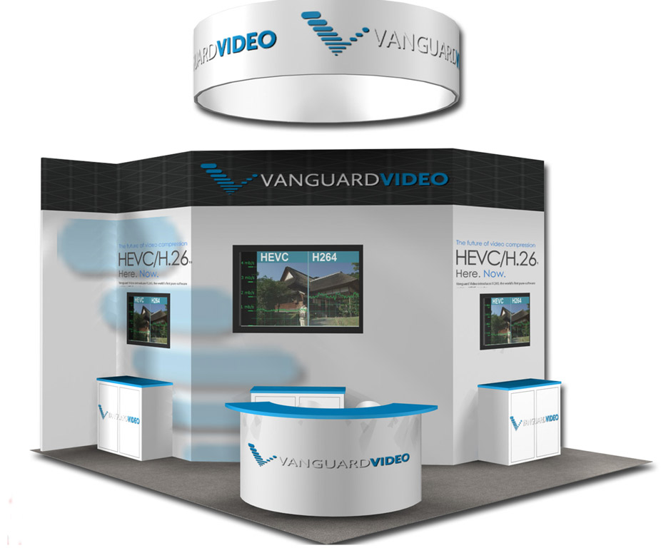 Expo Stand Backdrop : Trade show booths design build and servicing metro exhibits
