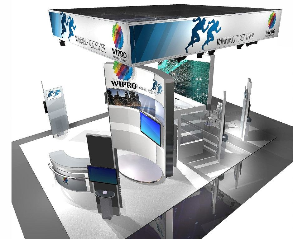 Exhibition Booth Pdf : Wipro custom exhibits