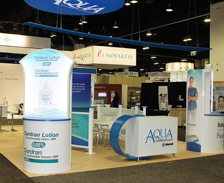 Aqua Pharma Custom Exhibits