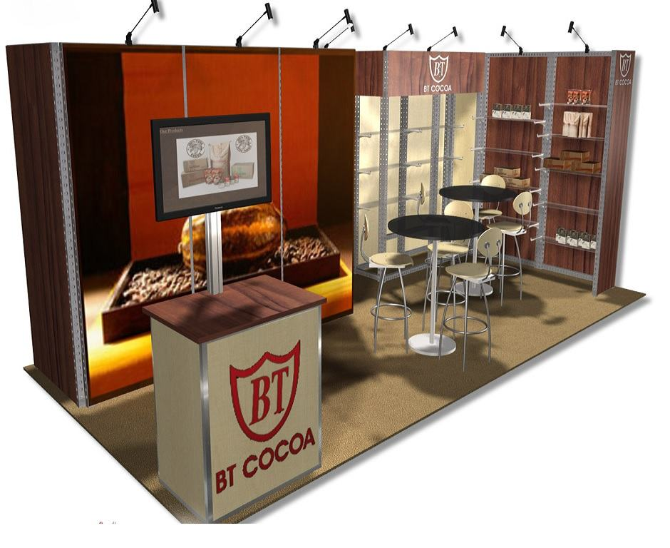 Trade Show Rental Designs By Booth Size