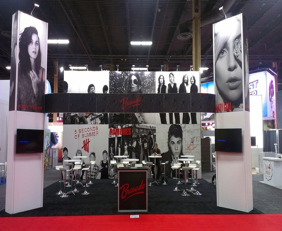 Celebrity talent for trade shows