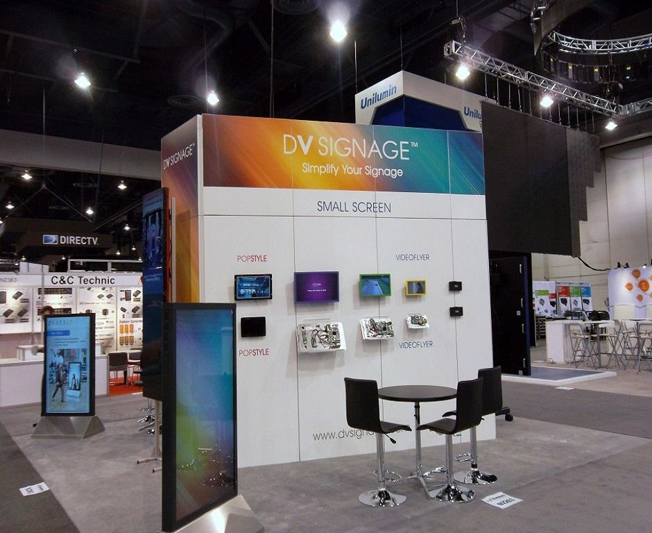 Technology Trade Show Display Ideas Custom Exhibits