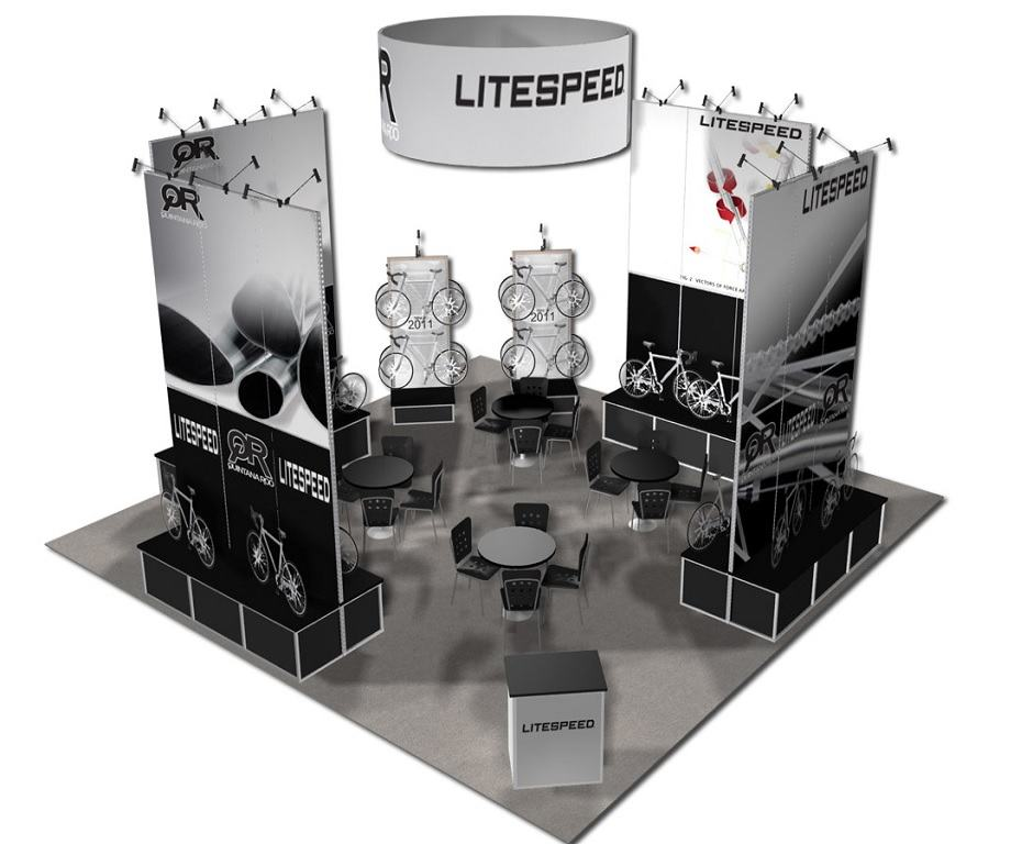 3030 and larger trade show booth design ideas - Booth Design Ideas