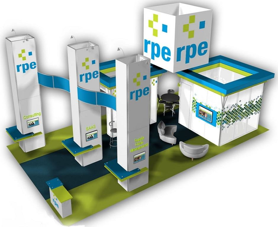 Exhibition Booth Budget : Trade show booth ideas custom exhibits