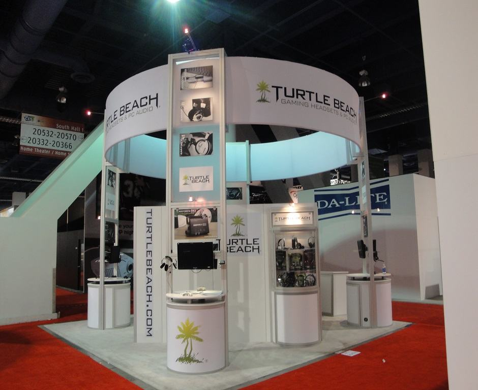 20×20 Trade Show Booth Ideas