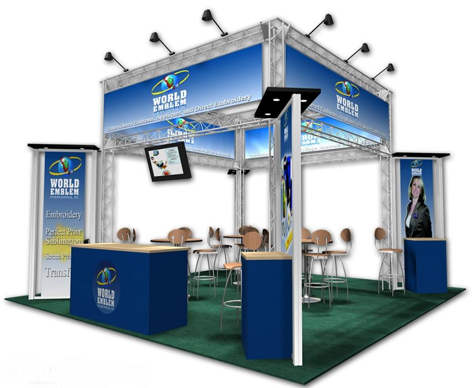 20x20 Trade Show Booth Ideas