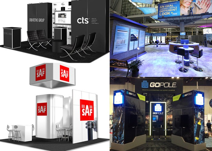 Exhibition Stand Options : Trade show tips: booth display ideas metro exhibits