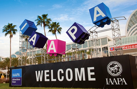 IAAPA Attractions Expo Trade Show Displays