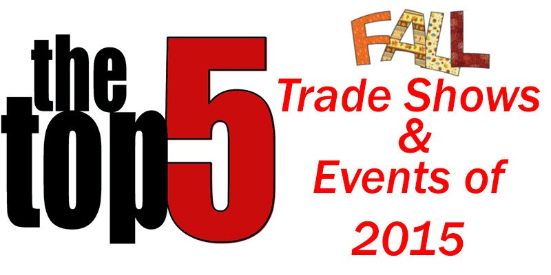 Top 5 Fall Trade Shows of 2015