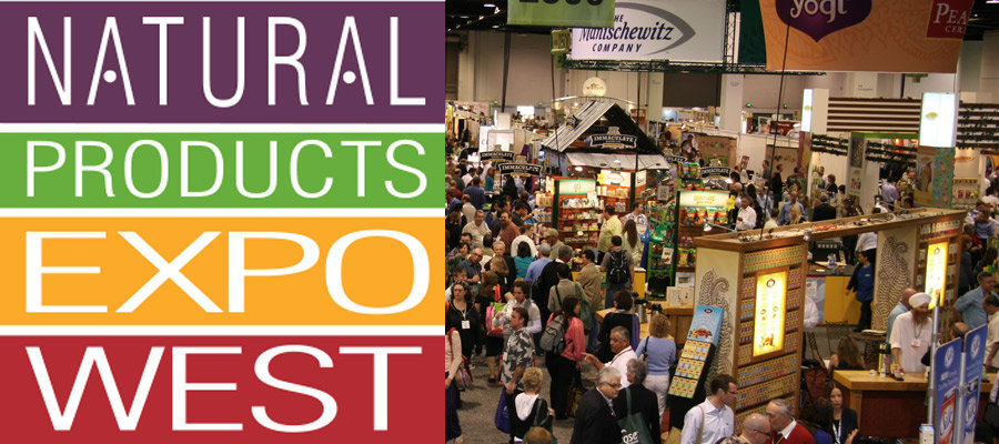 Natural Products Expo West Trade Show Displays