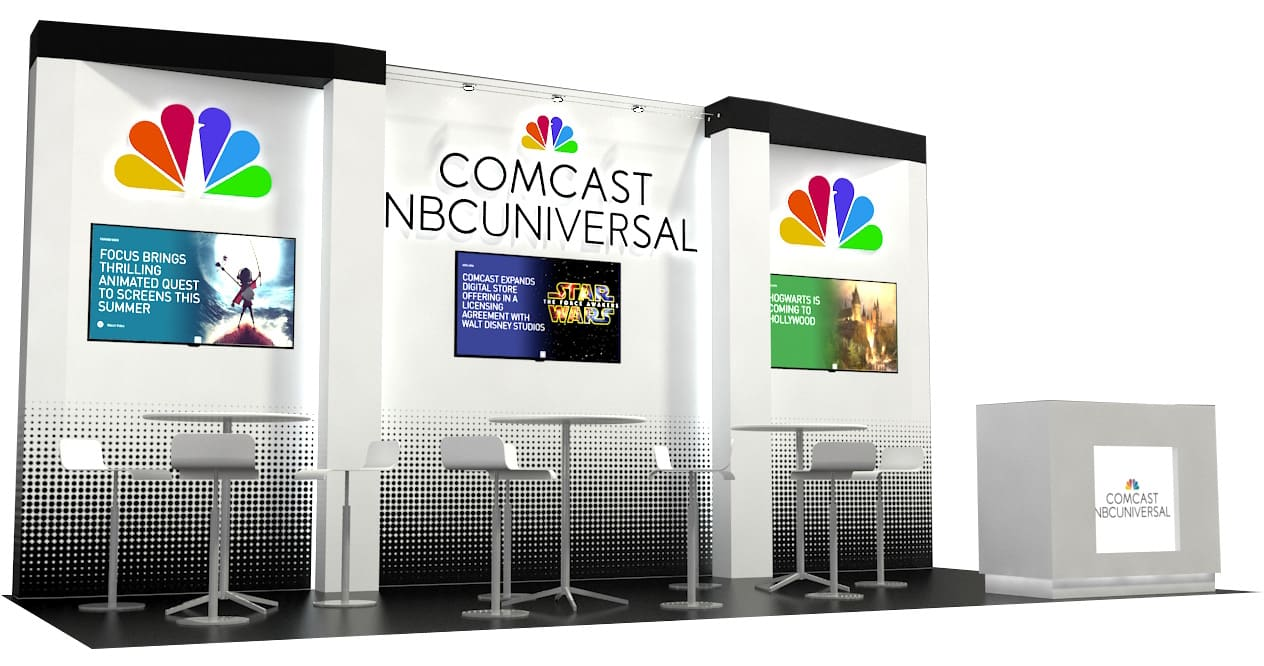 10x20 Trade Show Booth Ideas Custom Exhibits