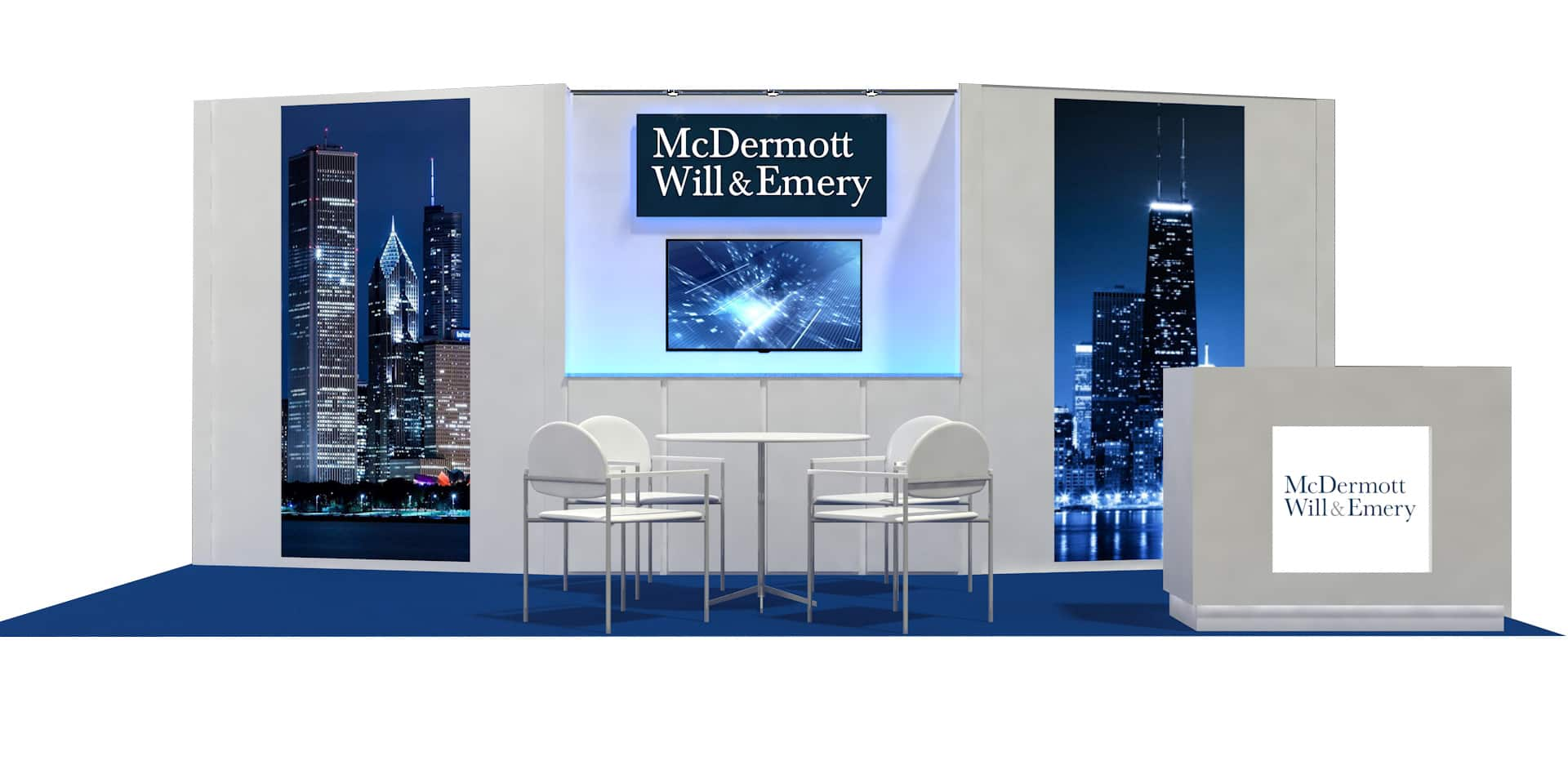 Trade Show Booth Dimensions : Ideas by booth size metro exhibits