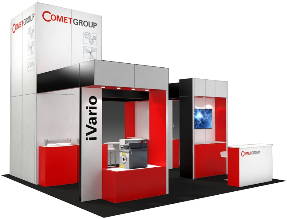Wood Trade Show Booth : Ideas by booth size metro exhibits