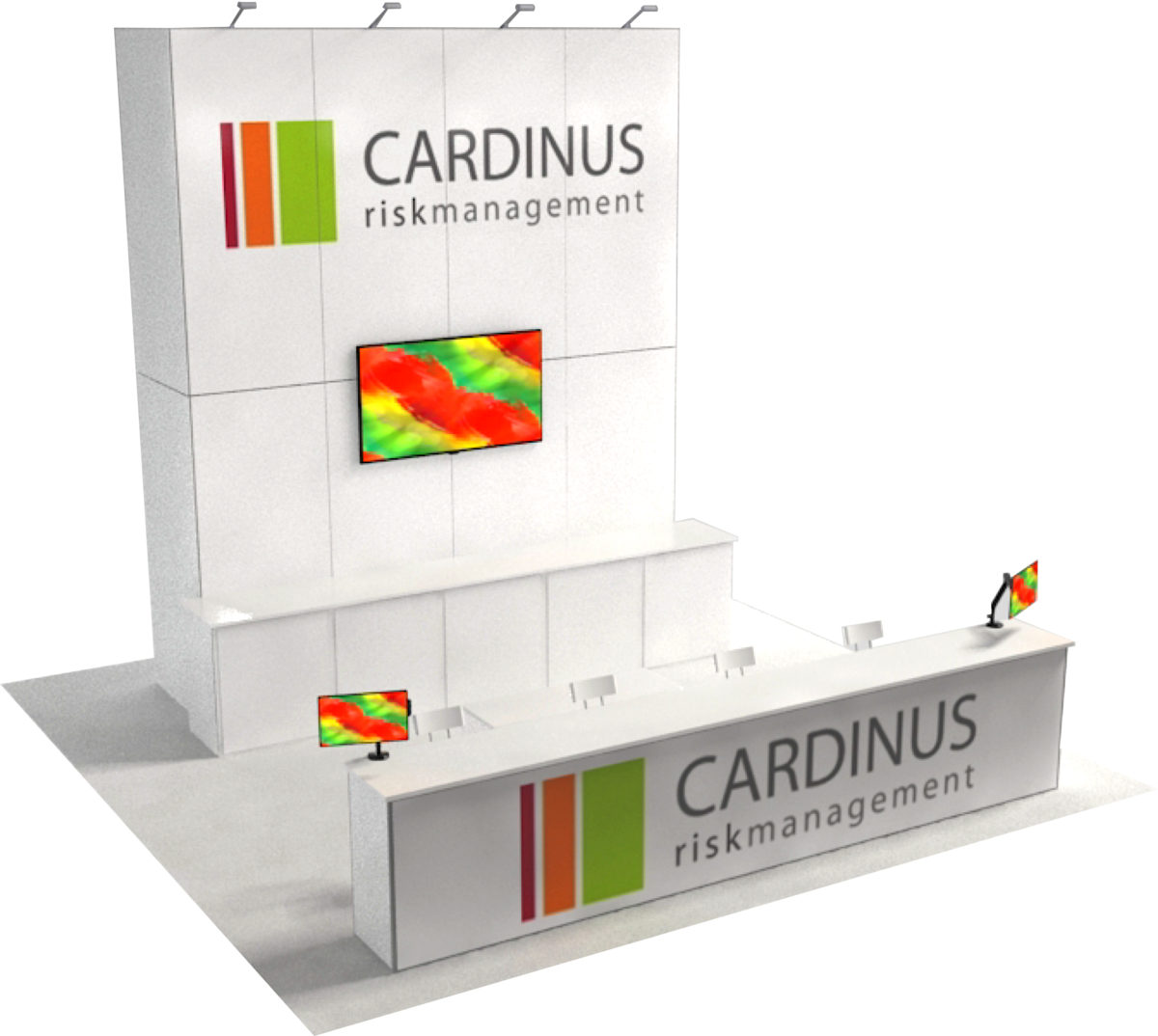 Trade Show Rental Design: Cardinus